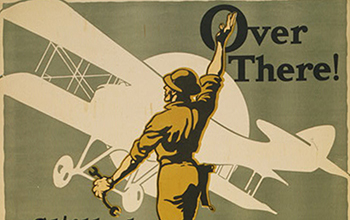 Recruitment poster for the Aviation Section, Signal Corps