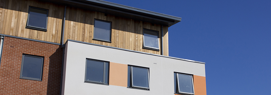 Our new Halls of Residence in Chichester, Stockbridge