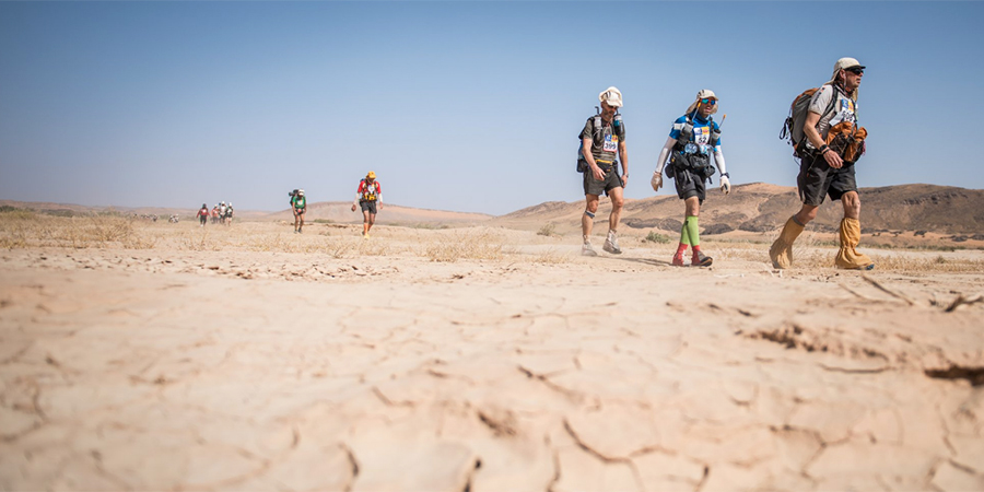 Marathon des Sables is a multi-stage 156-mile race and the equivalent of six marathons