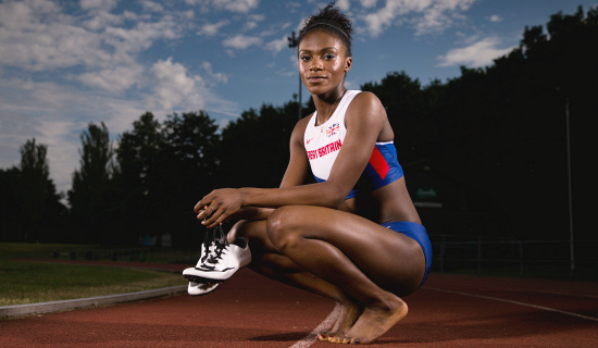 Dina Asher Smith - credit Mark Robinson