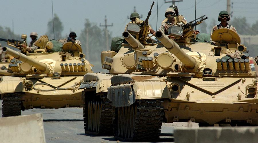 Iraqi-tanks