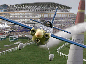 Planes are the new horses at Ascot - copyright Red Bull