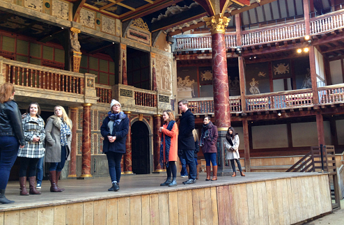 Chichester visits The Globe