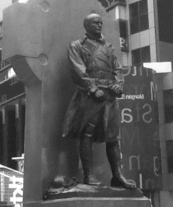 Bookcover - Francis Duffy Statue, Times Square