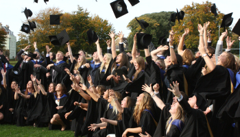 Graduation at the University of Chichester
