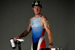 Triathlete Scott Hill