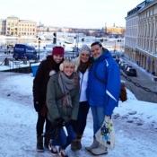 Students at Jonkoping University in Sweden.