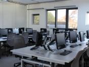 IT facilities at the Bognor Regis campus.