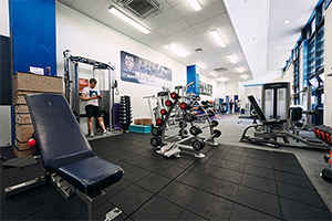 Weights, resistance and cardio machines