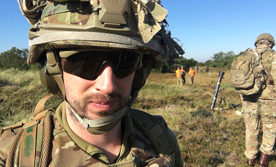 Alumni Tom Cotterill shortlisted for a national journalism award for raising awareness of suicide among military veterans
