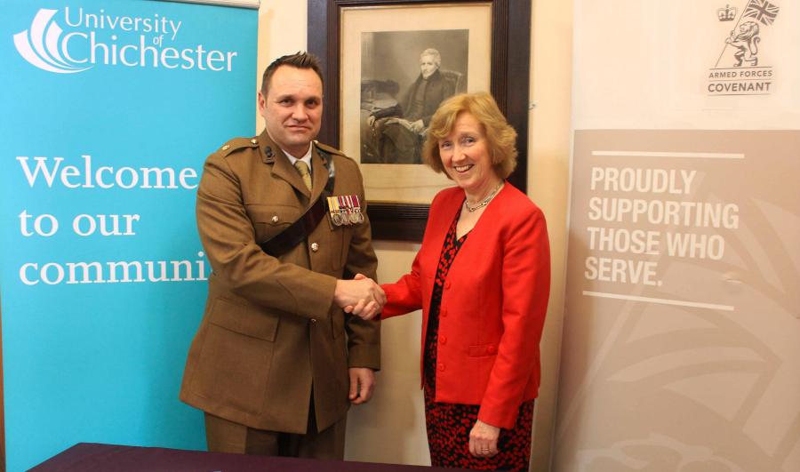 Armed Forces Honour University Of Chichester University Of Chichester See the complete profile on linkedin and discover tim's connections and jobs at similar companies. armed forces honour university of