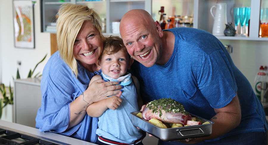 Chef Tom Kerridge's series Fresh Start