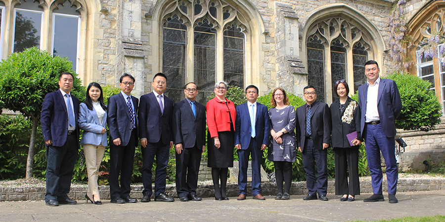 Chichester and Guangxi universities sign agreement for Chinese students to study in UK