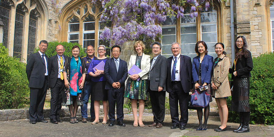 Chinese delegation visits Chichester