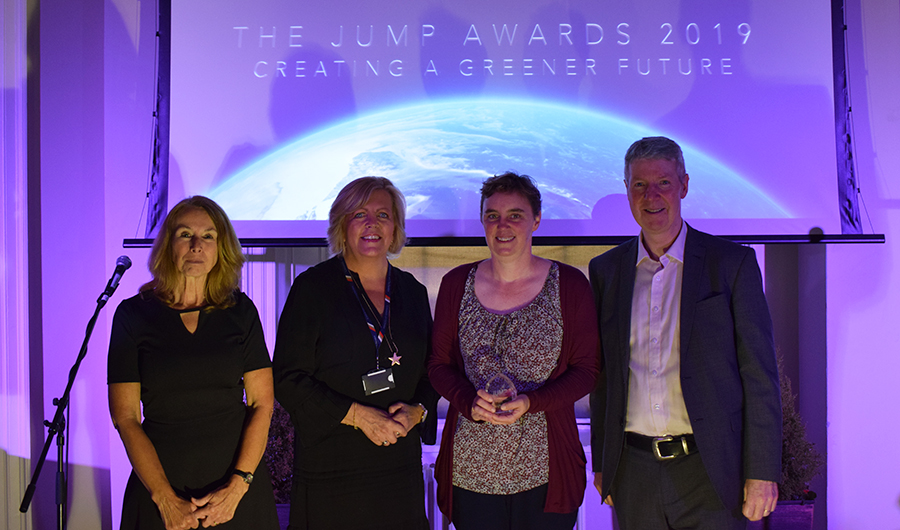 Jump awardsh encourage people to engage in environmental and wellbeing programmes