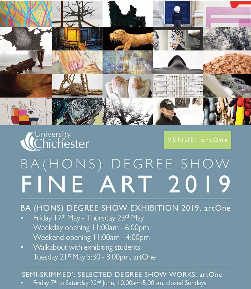 Fine Art Degree Show | University of Chichester