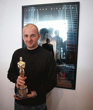 Meet Matt Jacques – the University's new Oscar and BAFTA award-winning visual effects artist