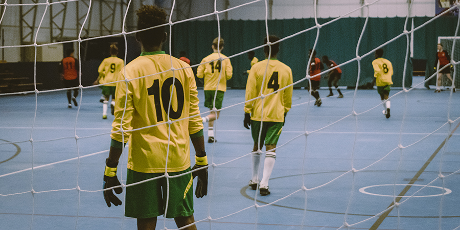 Nations United provides opportunities for refugees to play regular football and to become part of a community