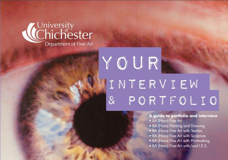 Portfolio Preparation University Of Chichester