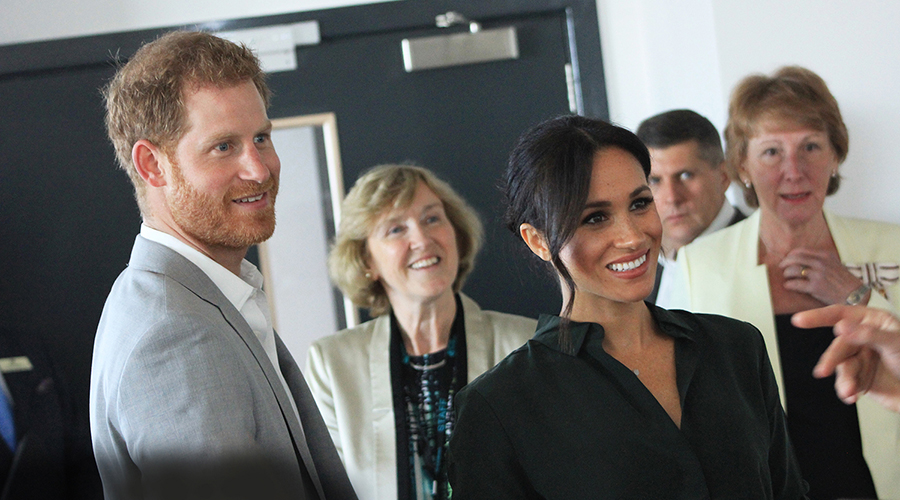 Their Royal Highnesses The Duke and Duchess of Sussex opened the University Tech Park in October 2018