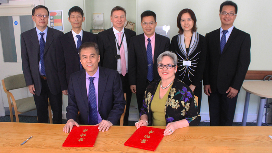 University signs international agreement with Chinese institution