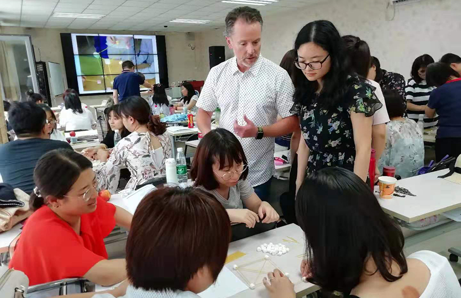 University's Beijing masterclass broadens high-quality teaching in China