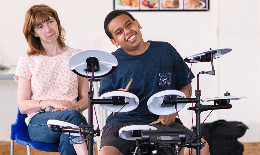 Drumming for an hour a week can help autistic children learn in school