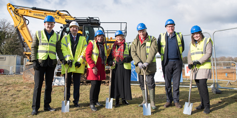Work begins on new Mill Chase Academy
