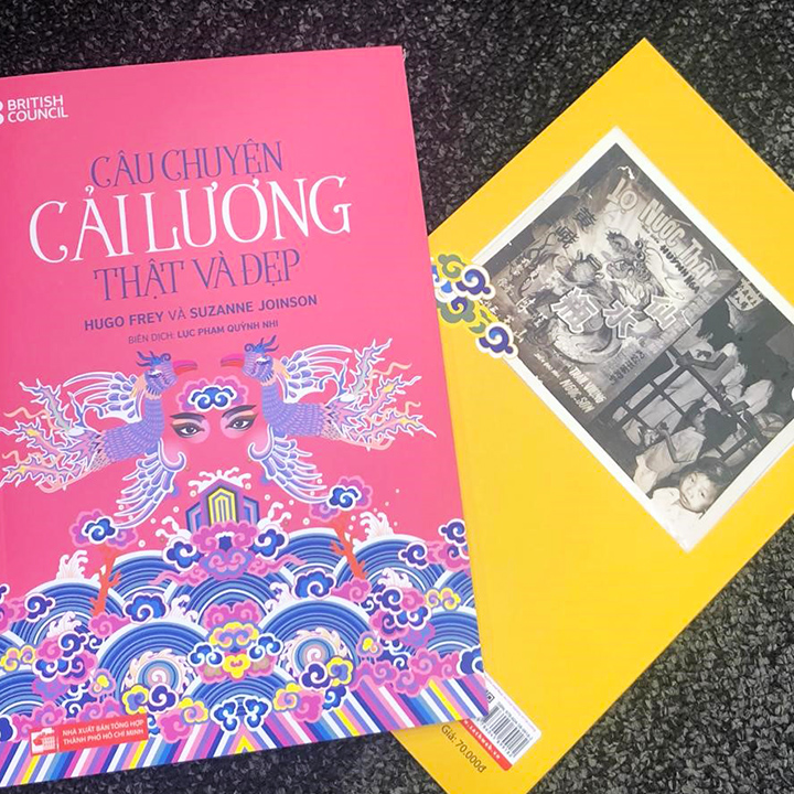 History of Vietnamese musical-theatre Cải Lương chartered for first time