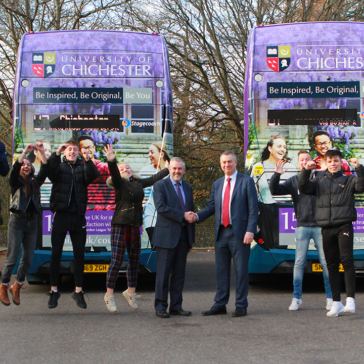 New eco-friendly buses unveiled by Stagecoach and University to cut south coast carbon emissions