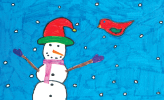 Christmas card - Berewood Primary School