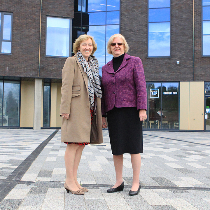 Cllr Eileen Lintill visits University Tech Park