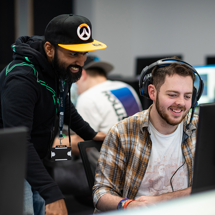 Rams Singh leads the University's new BA Hons esports degree