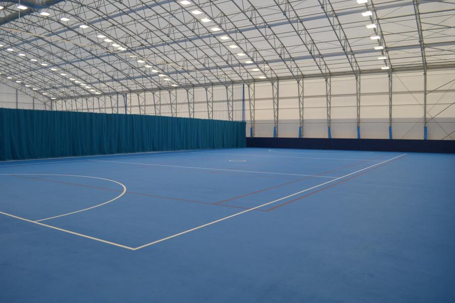 Sports Dome interior